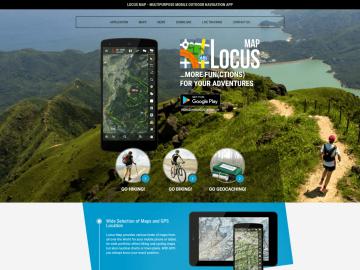 Locus Map Routenplanung