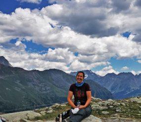 Rast am Berninapass